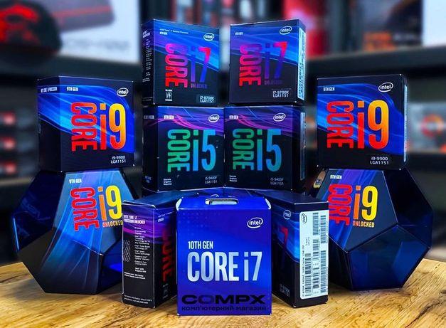 BEST! Intel K-серия (2500,4770,6600,6700,8600,9600,9900) Core i5/i7/i9