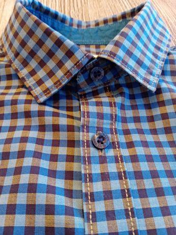 Koszula na krótki rękaw 134-140r.