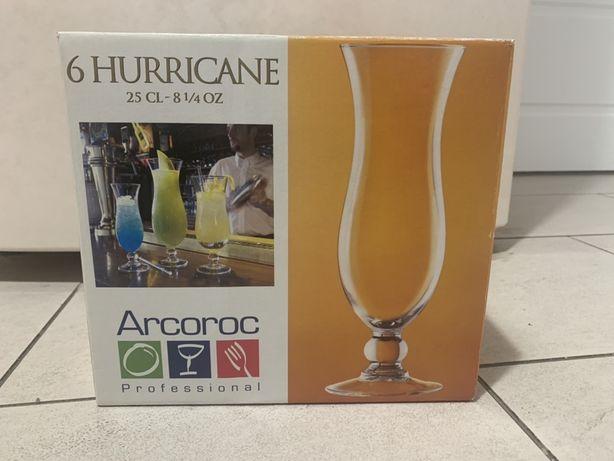 Коктельні бокали Arcoroc Hurricane 250 мл / коктельные бокалы