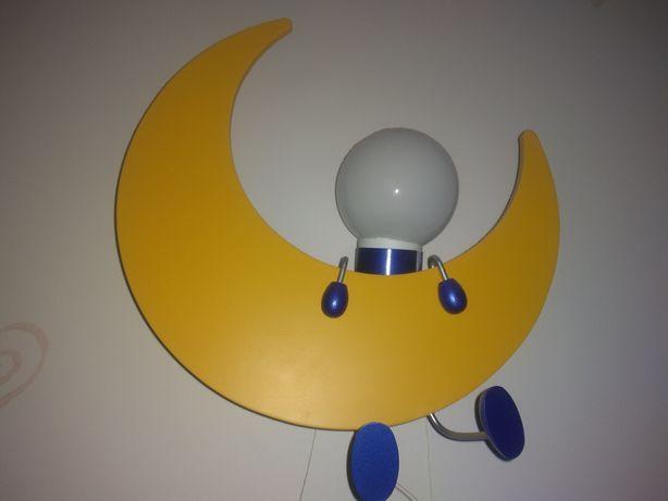 Lampa kinkiet Philips. Ludzik na księżycu. Stan idealny.
