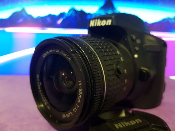 Nikon D3300 + obiektyw 18-55mm .mały przebieg (2314)