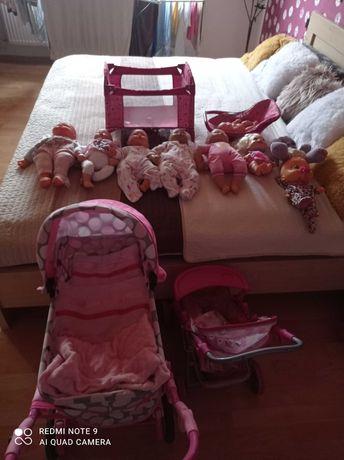 Bobasy, wózki, łóżeczko