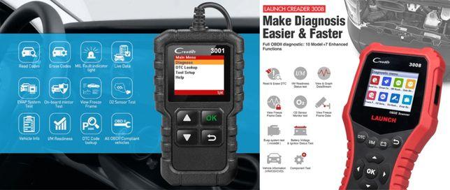 Launch X431 CR3001 и CR3008 автомобильный OBDII/EOBD сканер, гарантия