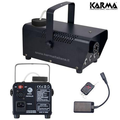 Máquina de fumos 700W C/ LED's com botão sem fios - KARMA