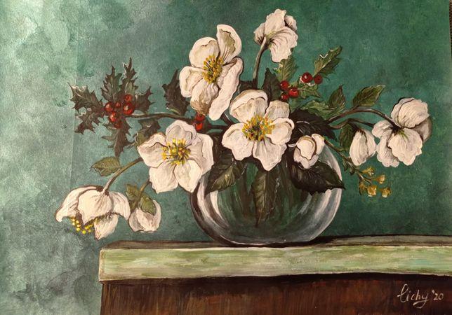 Obraz  akrylowy kwiaty