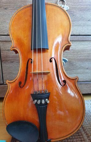 Piękne skrzypce Klier z wyceną lutniczą