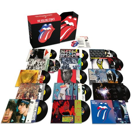 "The Rolling Stones ""Studio Albums Vinyl Collection"""