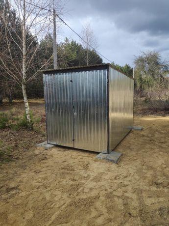 Garaż blaszany 2x3 blaszak, schowek, budowa. Montaż i dowóz GRATIS