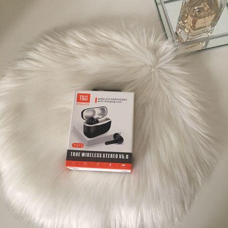 słuchawki Bluetooth wodoodporny sportowy zestaw słuchawkowy z ładowark