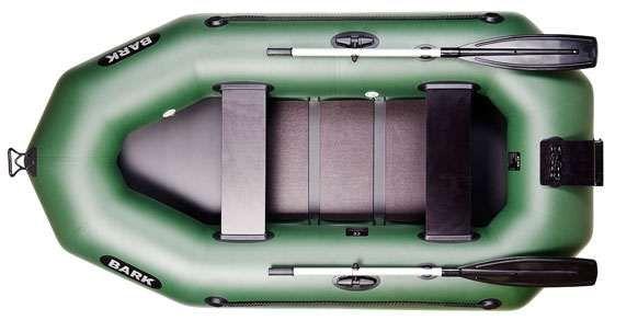 Лодка надувная Bark B-250N новая под мотор, човен надувний.