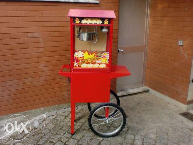 Máquina de pipocas - Algodão doce