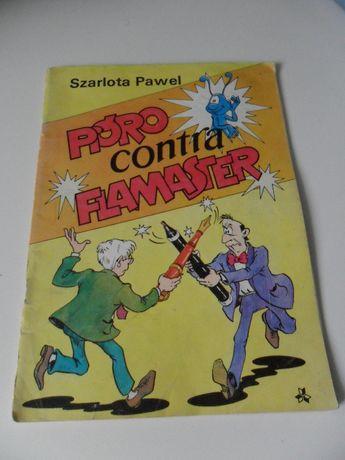 """Pióro contra flamaster"" Szarlota P. Dawid i Sandy Lutczyn"