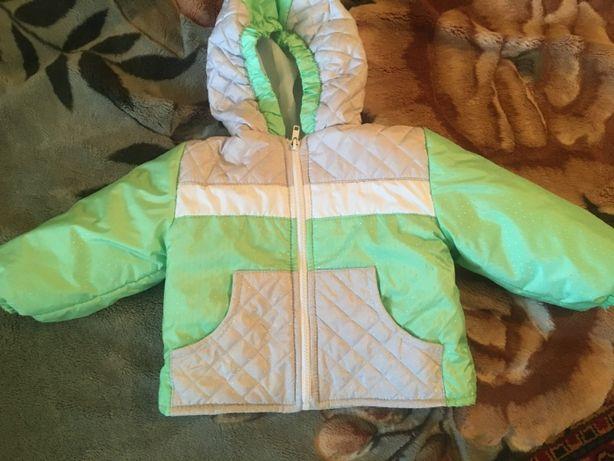 продам детскую куртку 100 грн осень-весна на 1,3 года + (86см)