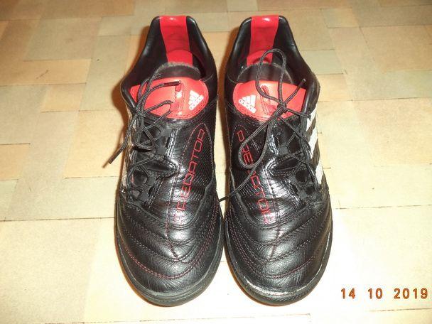Кожаные кроссовки Адидас, Adidas, р.35-36