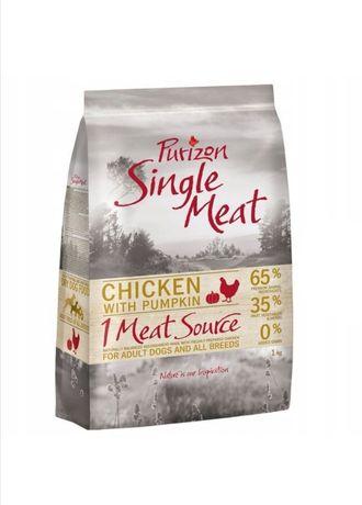 Purizon Single Meat Adult, kurczak z dynią, bez zbóż, 1kg