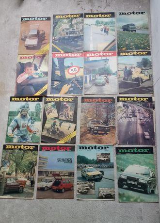 Czasopisma Motor 84-87 rok !