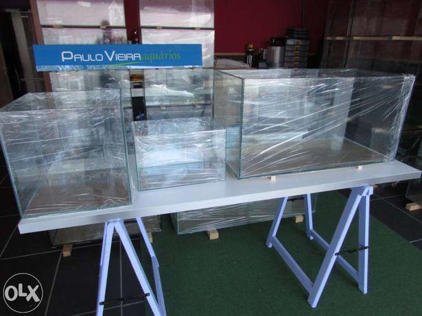 Aquario novo 80 x 30 x 40 em vidro 8mm