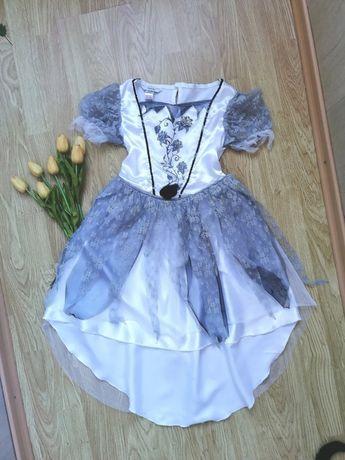 Платье ведьмы колдуньи королевы маскарадное карнавальное новогоднее