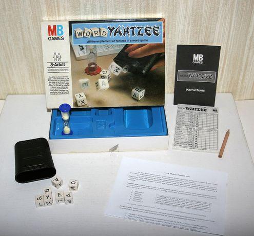 Настольная игра Yahtzee Яхтзы покер на костях Эрудит Скрэббл