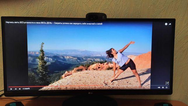 """Монитор 25"""" LG UltraWide IPS 2560 x 1080 Фильмы Игры Работа 25UM58-P"""