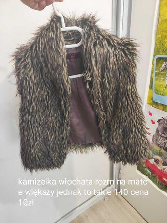 Kamizelka futerko 140