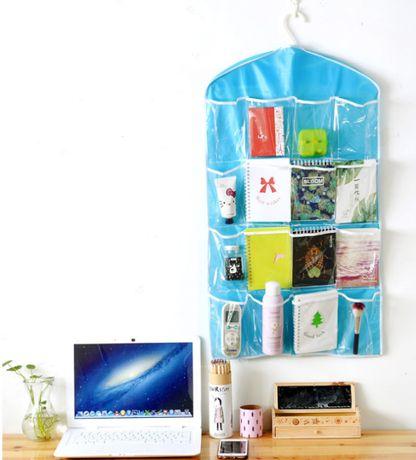 Подвесной органайзер с карманами на стену/шкаф/детскую - 78X42 см
