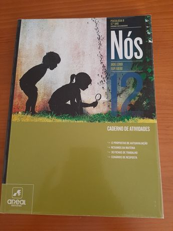 Caderno de atividades de Psicologia B 12 ano