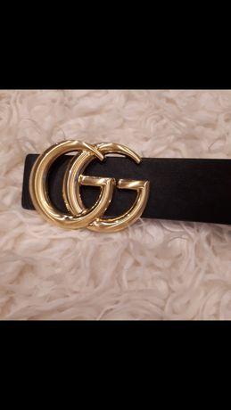 Damskie logowane paski Louis Louis Voutton Gucci Chanel Hermes