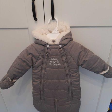 Zimowy kombinezon niemowlęcy nowy!!!