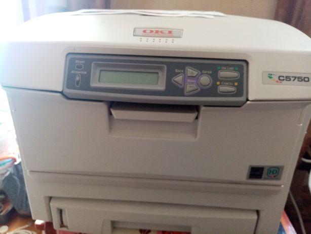 Цветной лазерный принтер OKI 5750