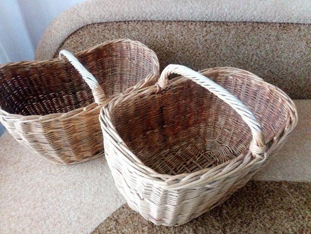 Корзины плетёные из лозы
