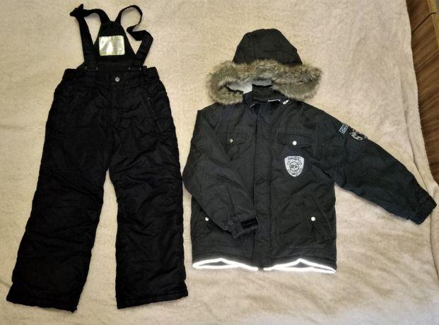 Зимний мембранный термо комбинезон Lemmi, 122-128. Костюм куртка штаны