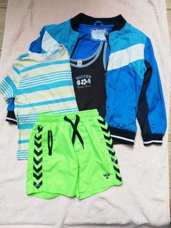 4-cz Dres piłkarski sport 116, 122, 128 kurtka bluza szorty koszulki