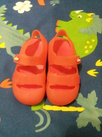 sandalias chicco TAM25 (vermelhas-unisexo)
