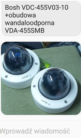 Kamera bosh monitoring