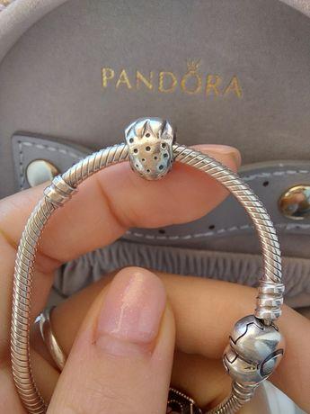 Conta Pandora Morango Prata 925 Ale
