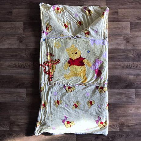 Зимнее детское одеяло спальник спальный мешок Disney