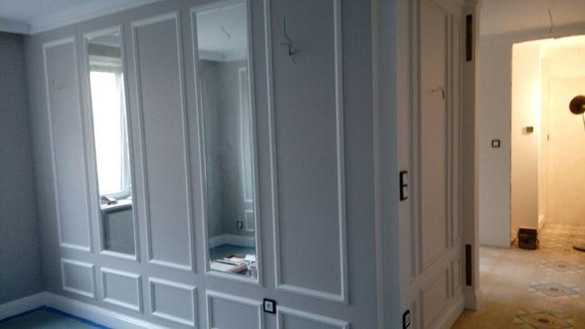 Remonty wykonczenia wnętrz plytki malowanie panele szpachlowanie