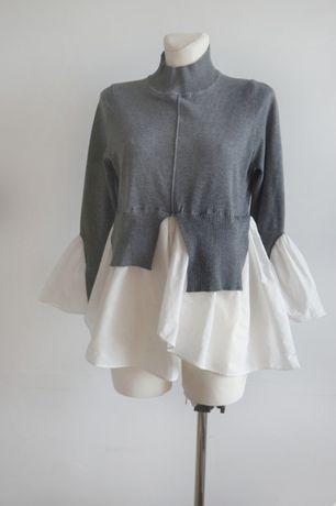 ry sweterek golf wełna SHK Paris XS S