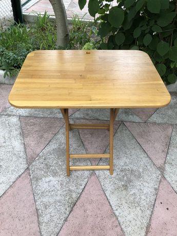 Стол/столик складной портативный деревянный