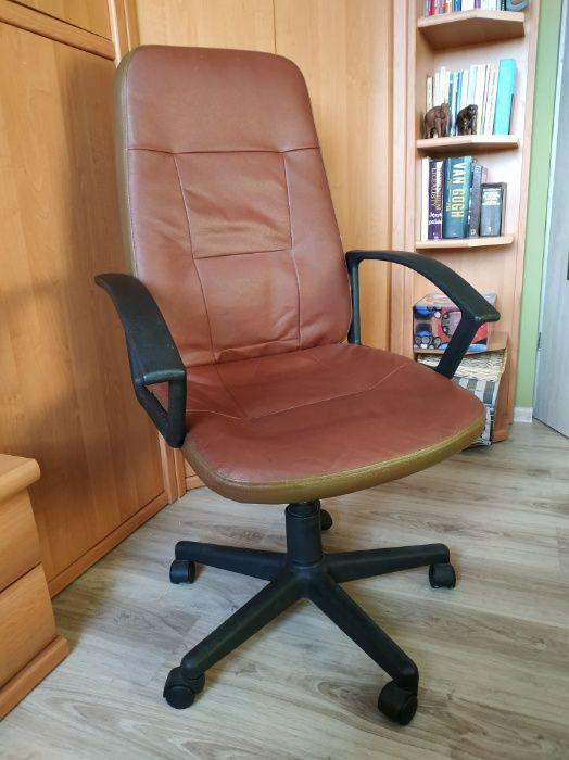 Fotel z materiału skóropodobnego Plewiska - image 1
