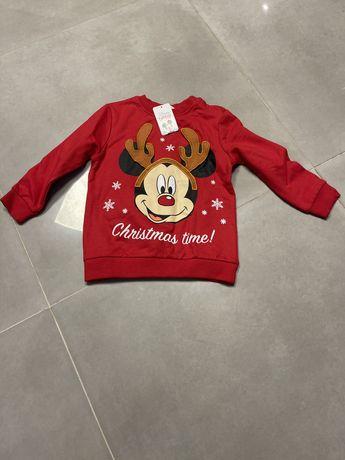 Nowa bluza czerwona Disney rozm.98