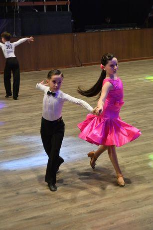 Платье для бальных танцев (бейсик) рост 140-146