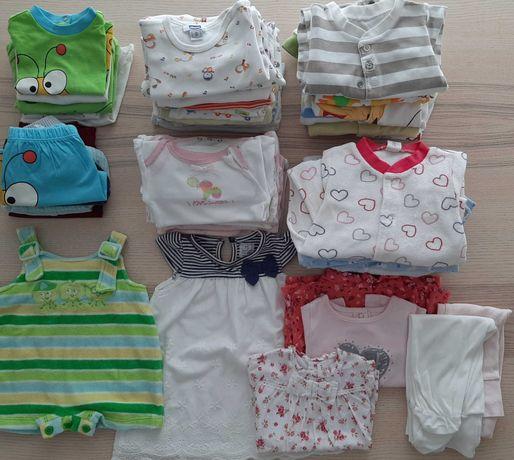 Lote 45 peças roupa bebé 0-3 meses