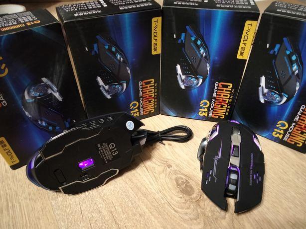 Игровая мышка с встроенным аккумулятором и подсветкой