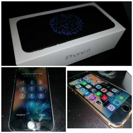 Iphone 6 | 32 GB | Livre | na caixa | Precisa ecran novo