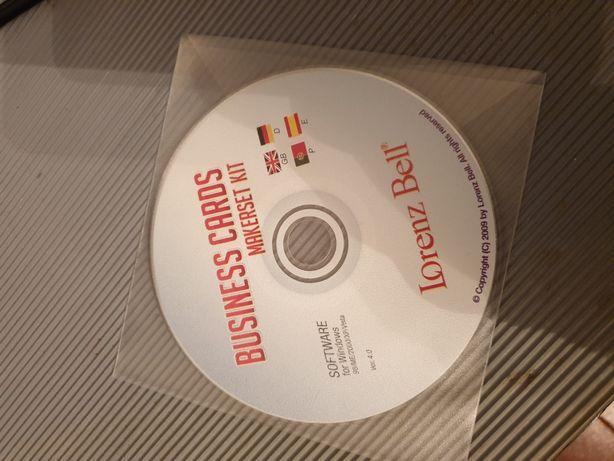 CD Software para Fazer Cartões de Visita