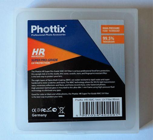 Filtro UV Phottix HR NMC 86mm