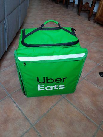 Mochila Uber Eats Extensível