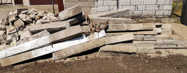 Oddam gruz + stare słupki betonowe